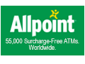 All Point 55,000 surcharge-free ATMs worldwide